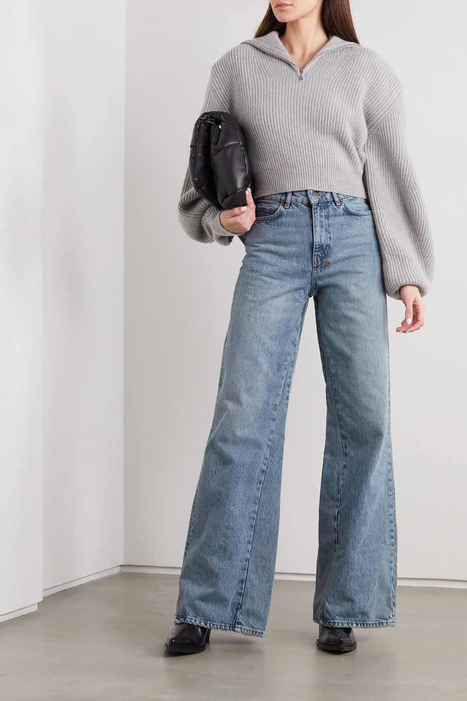 KSUBI Kicker Jinx high-rise wide-leg jeans