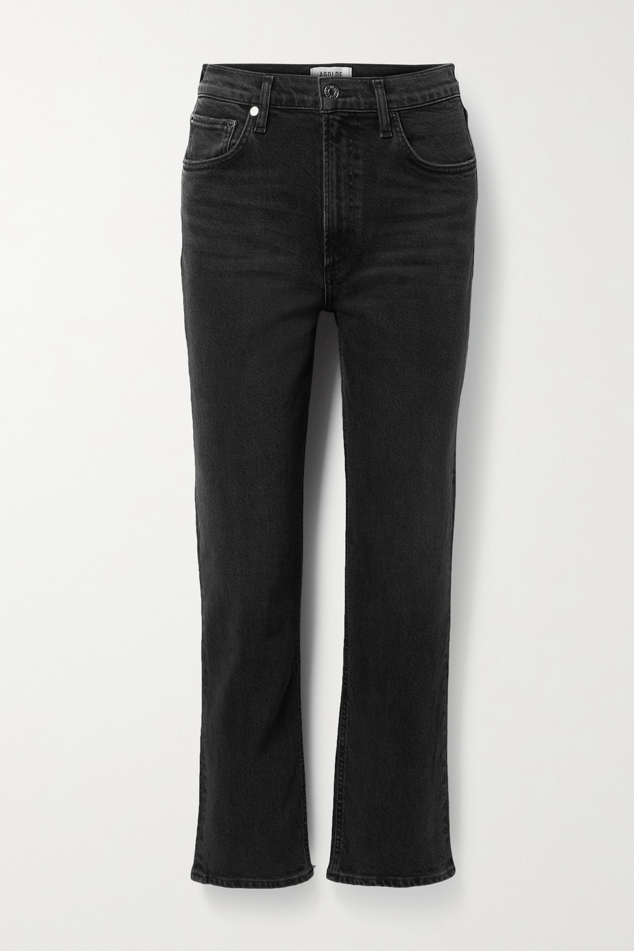 AGOLDE Wilder high-rise straight-leg jeans