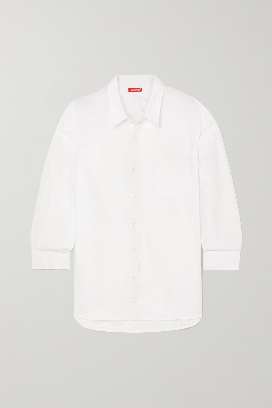 DENIMIST Cotton-poplin shirt