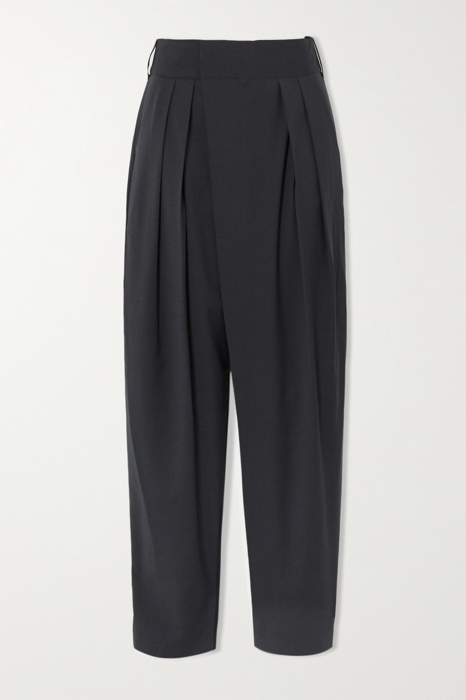 LOW CLASSIC Pleated woven pants