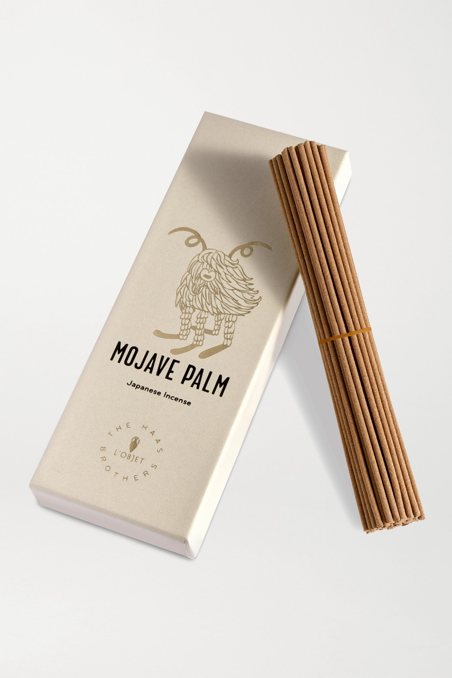 L'OBJET + Haas Brothers Mojave Palm Incense (60 sticks)