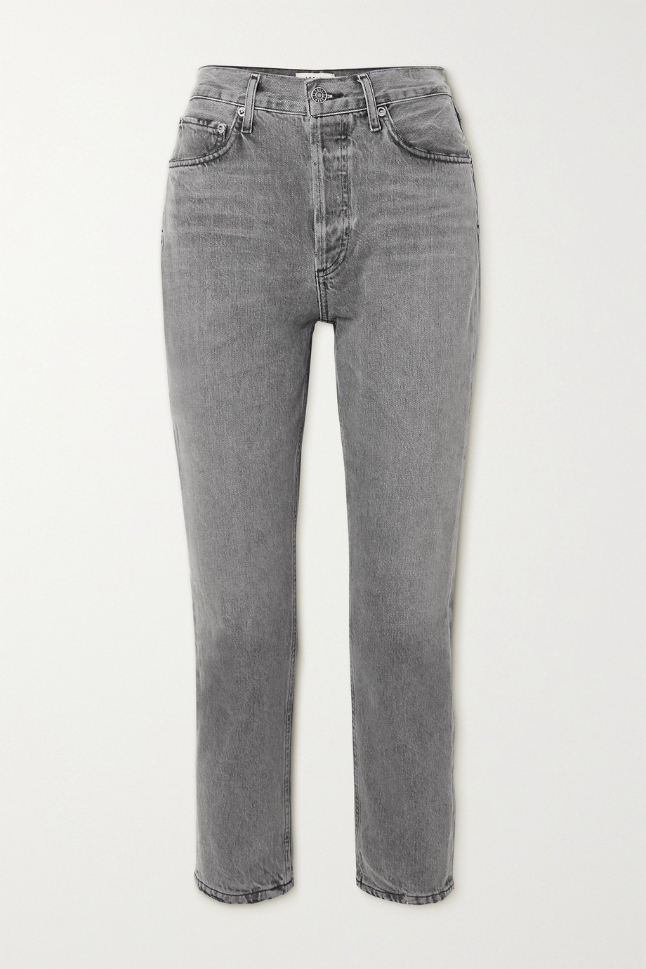 AGOLDE Riley high-rise straight-leg jeans