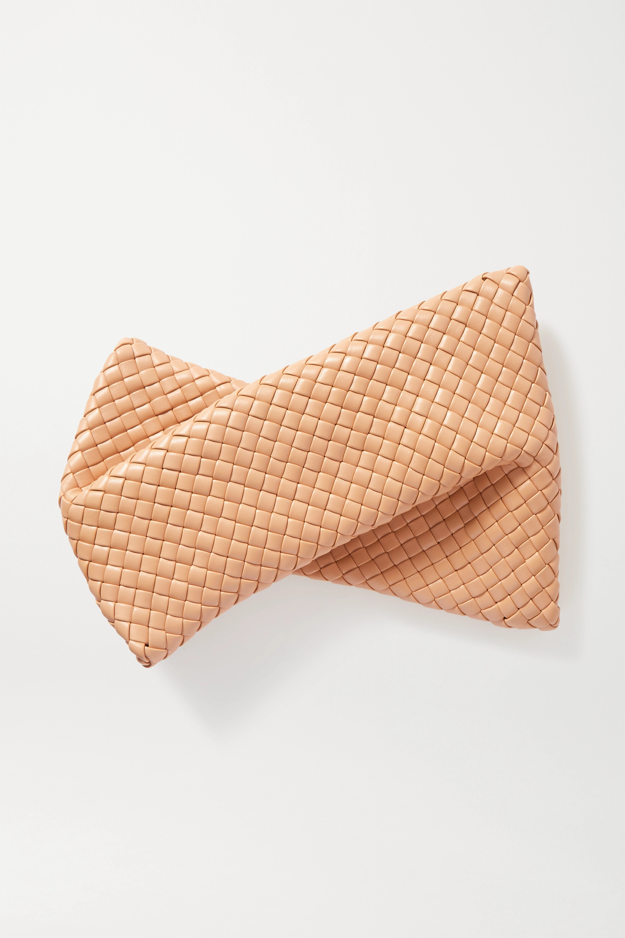 BOTTEGA VENETA The Crisscross intrecciato leather clutch
