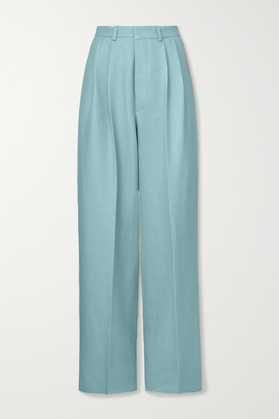 DODO BAR OR Coco pleated wool-blend wide-leg pants