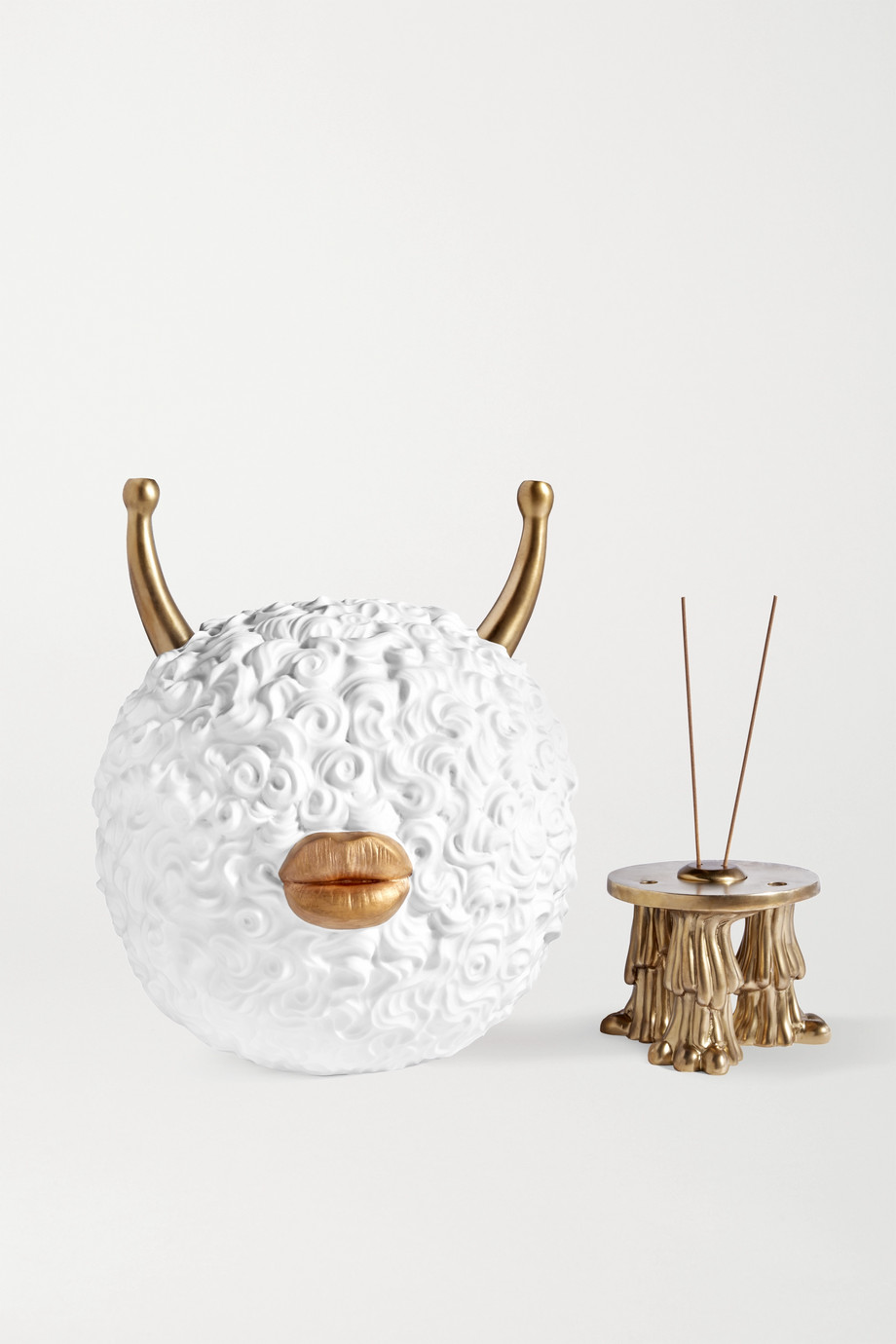 L'OBJET + Haas Brothers Monster Ball Incense Burner