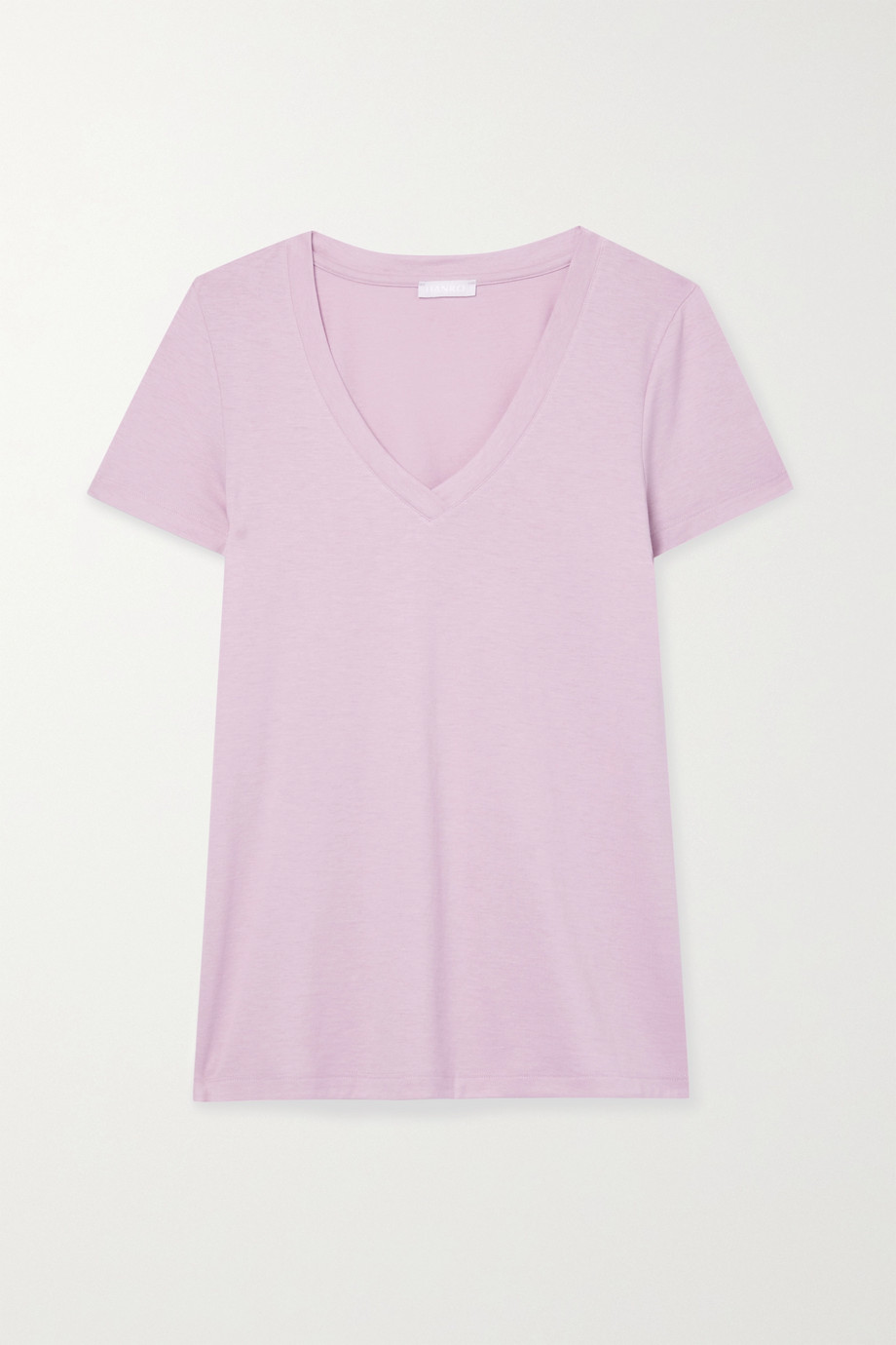 HANRO Sleep & Lounge cotton and modal-blend T-shirt