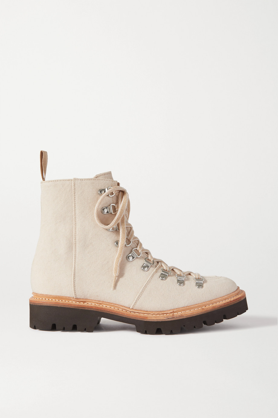 Grenson Nanette canvas ankle boots