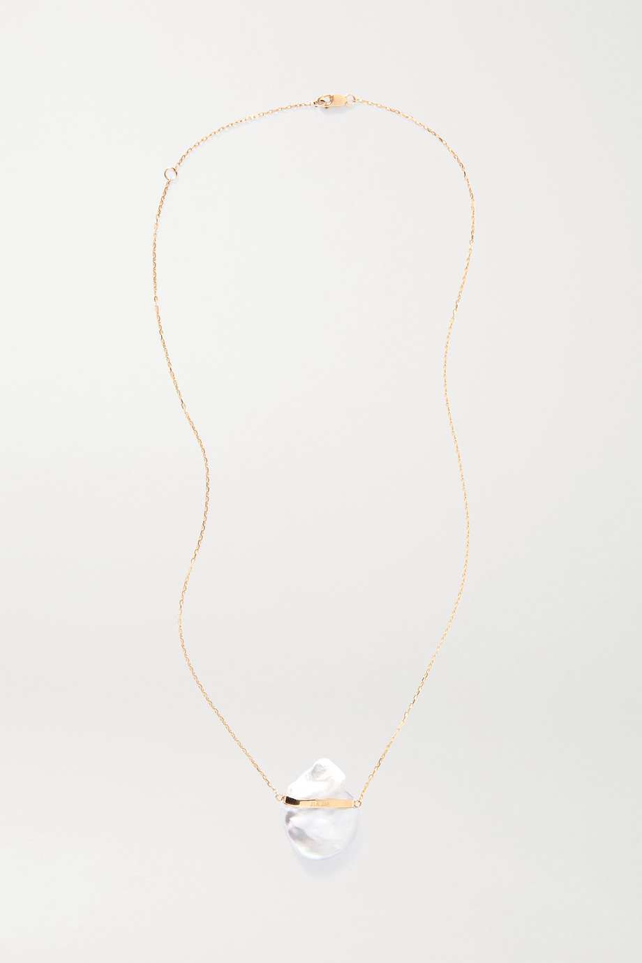 JIA JIA 14-karat gold pearl necklace