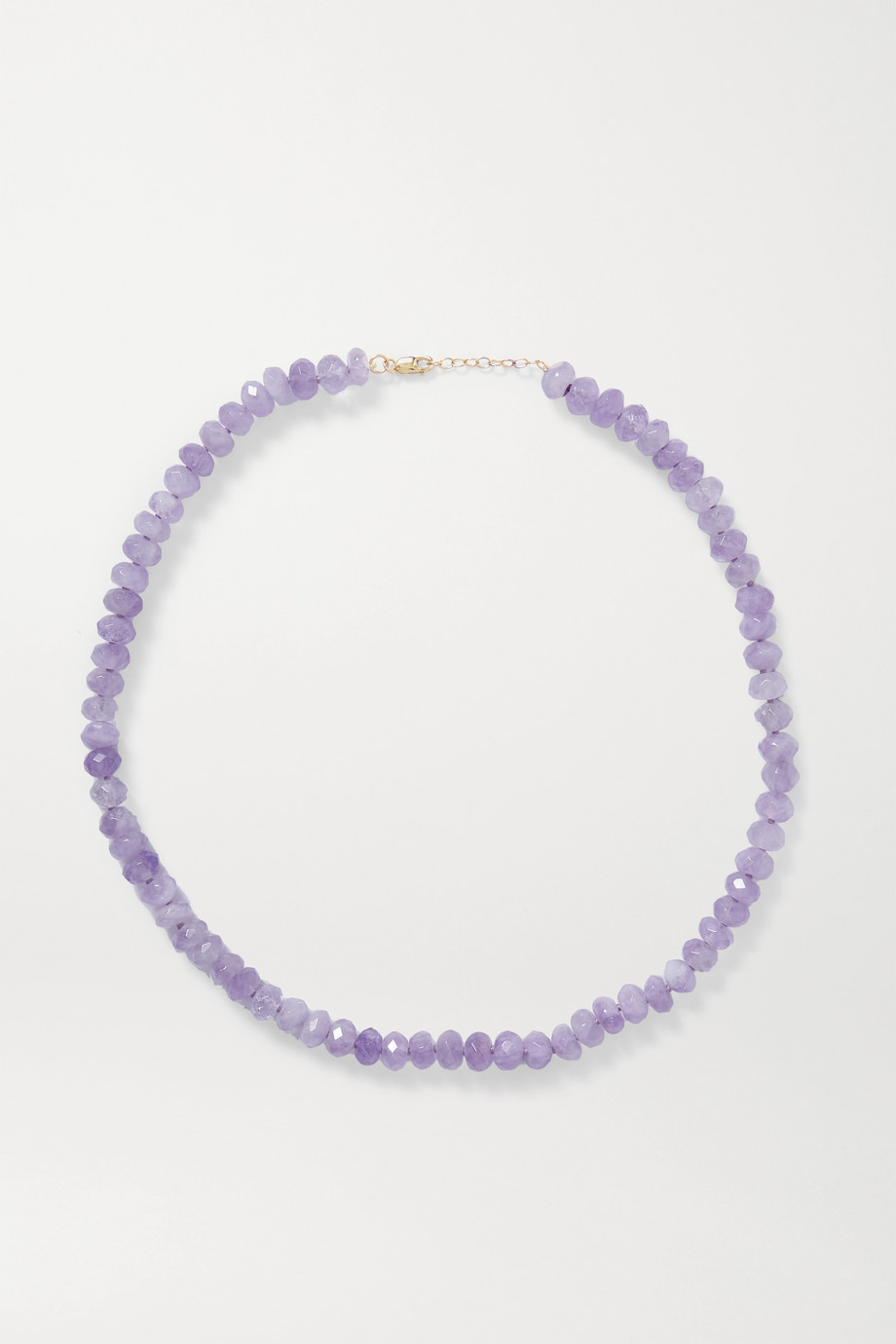 JIA JIA Gold amethyst necklace