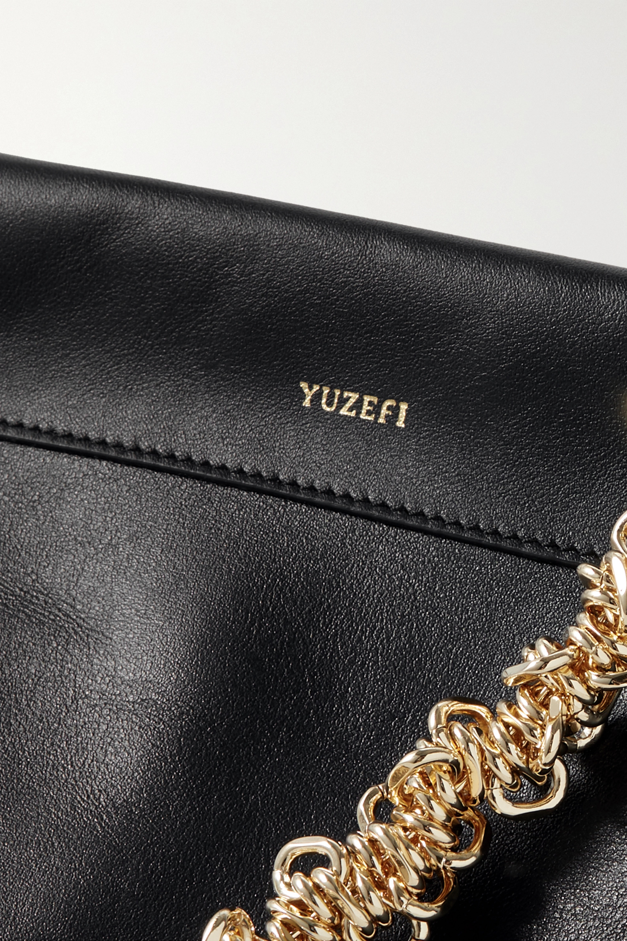 YUZEFI Leather tote