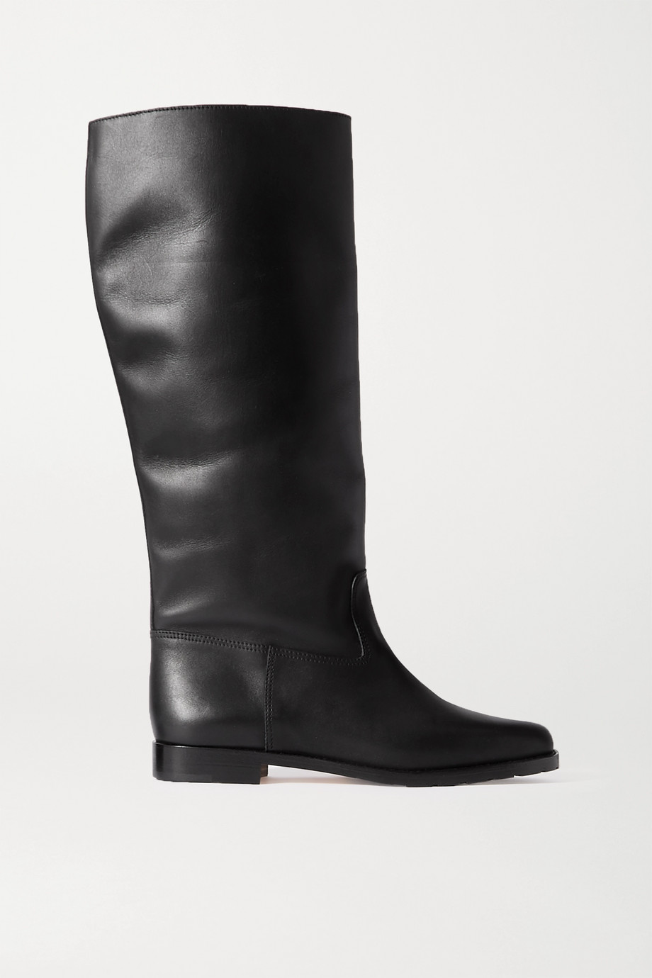 MANOLO BLAHNIK Luchino leather knee boots