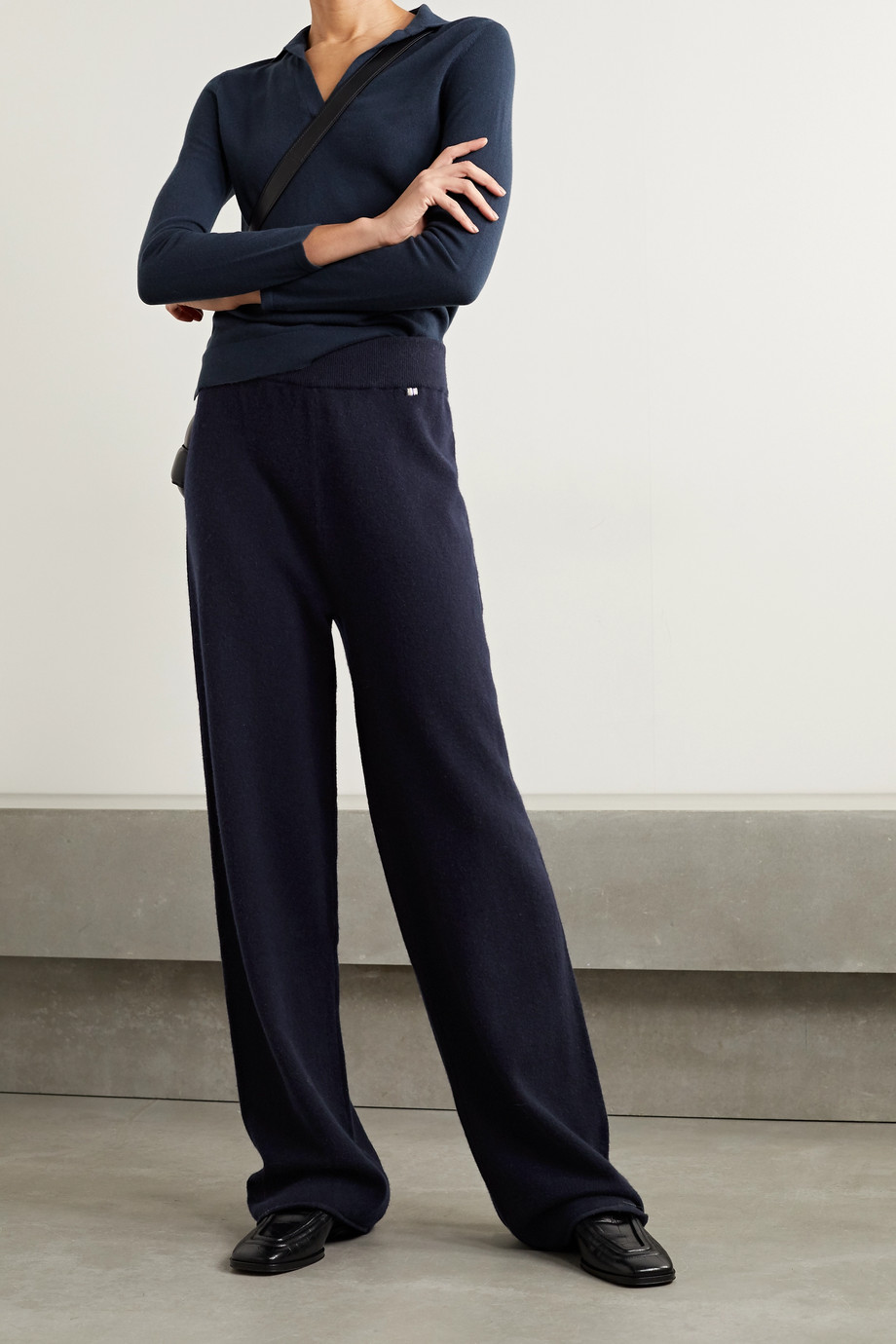 EXTREME CASHMERE N°104 cashmere-blend track pants