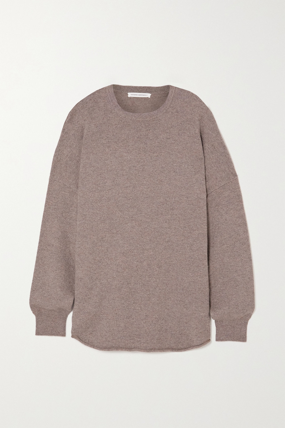 EXTREME CASHMERE N°53 Crew Hop cashmere-blend sweater