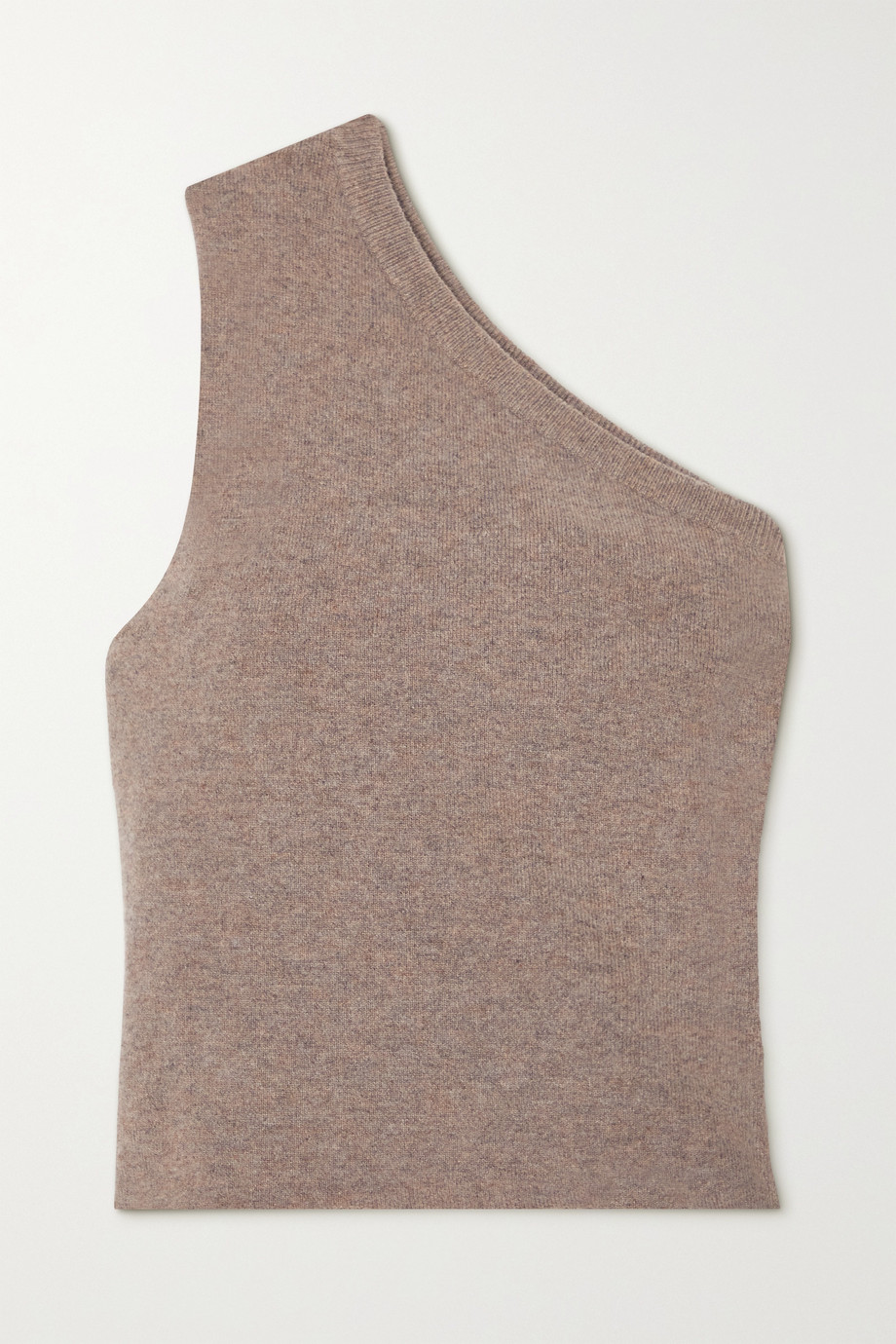 EXTREME CASHMERE N°108 one-shoulder cashmere-blend top