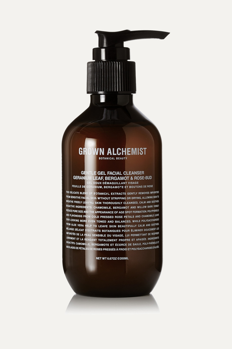 GROWN ALCHEMIST Gentle Gel Facial Cleanser, 200ml