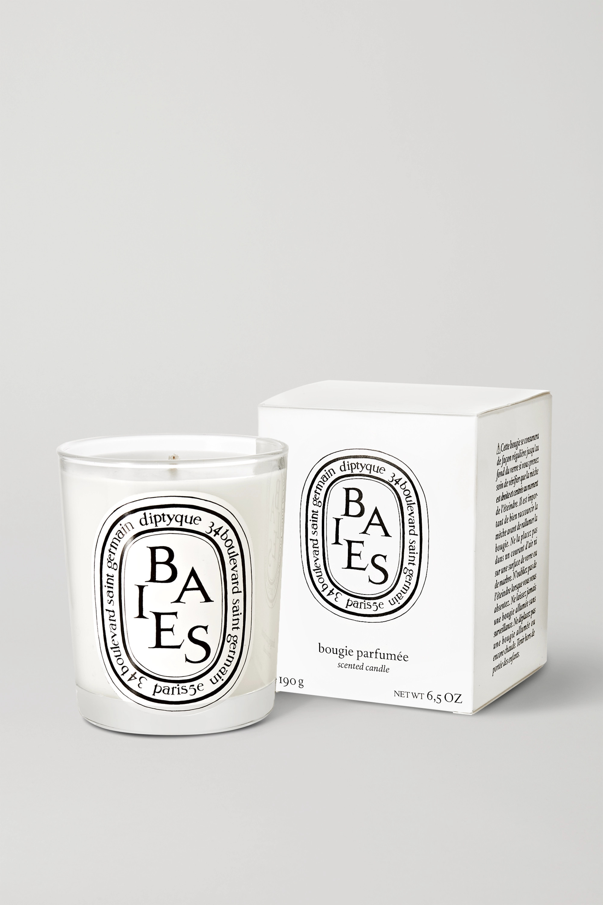DIPTYQUE Baies scented candle, 190g