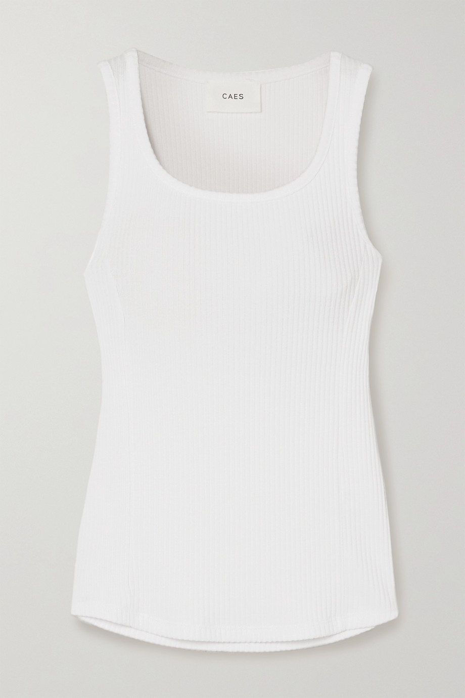 CAES + NET SUSTAIN ribbed stretch-jersey tank