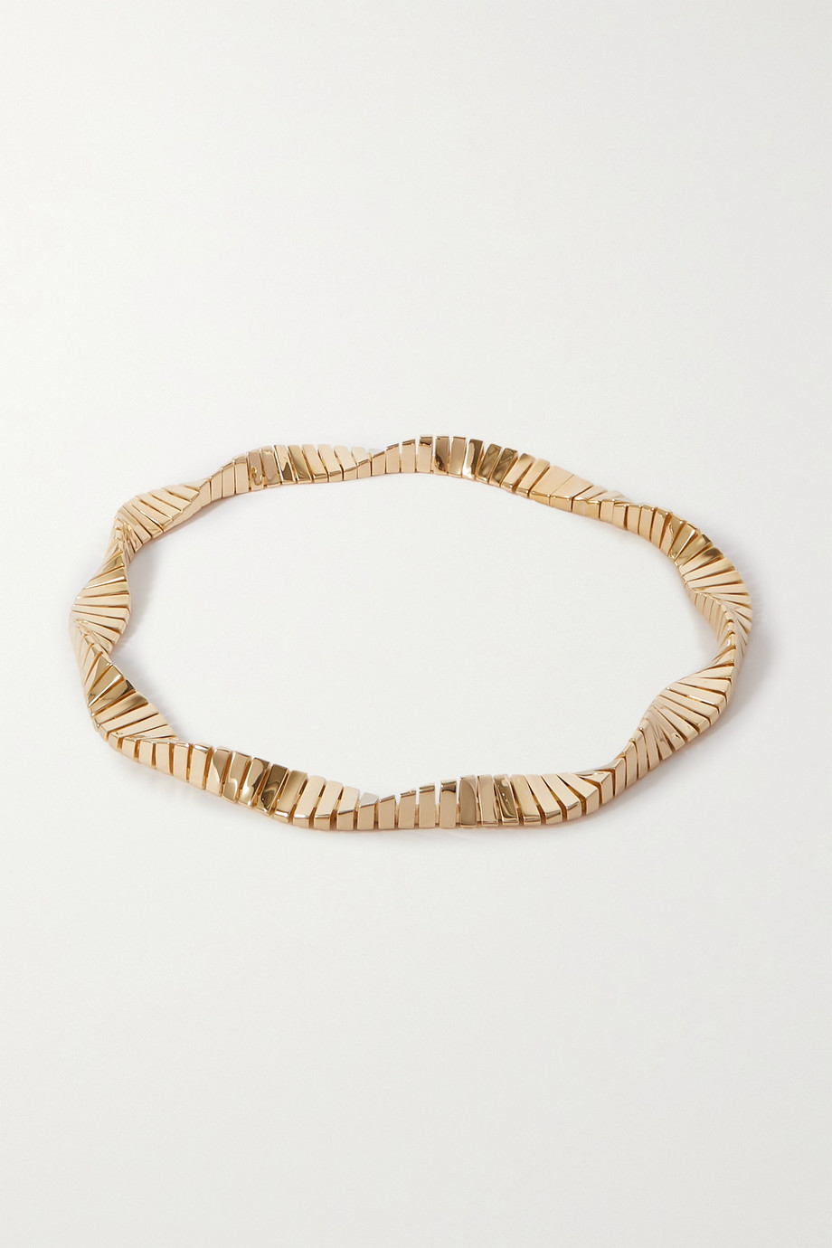 BOTTEGA VENETA Twist gold-plated necklace