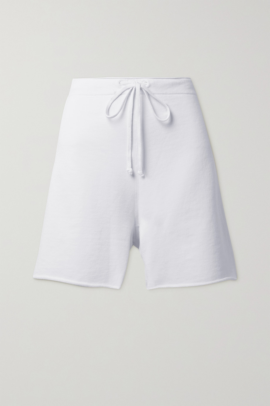 NILI LOTAN Austin cotton-jersey shorts