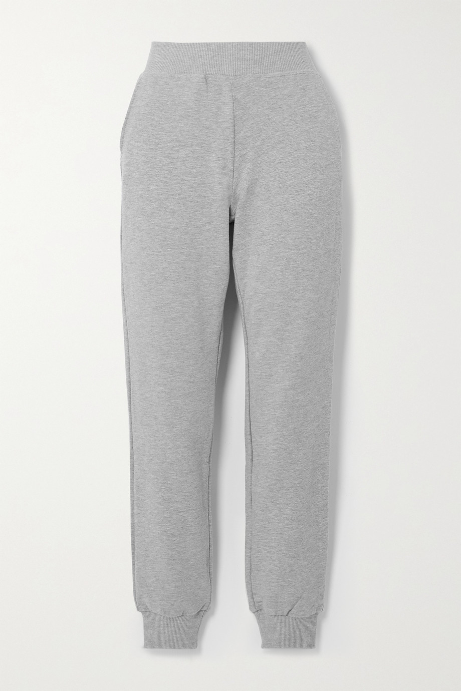 L'AGENCE The Moss stretch cotton and modal-blend track pants