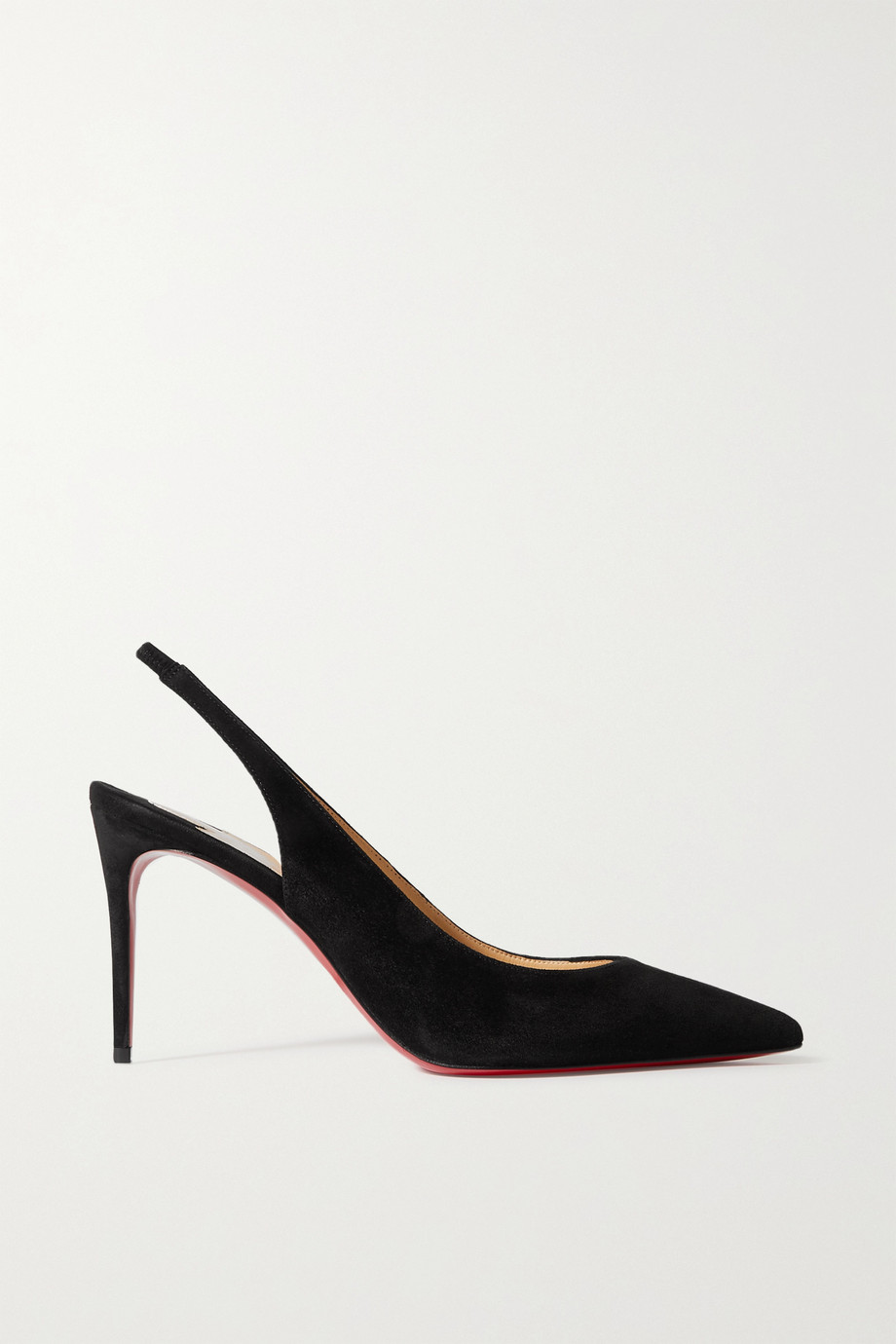 CHRISTIAN LOUBOUTIN Kate Sling 85 suede pumps