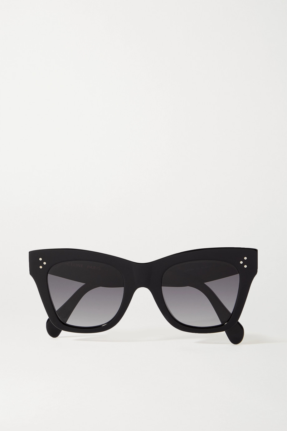 CELINE Oversized cat-eye acetate sunglasses