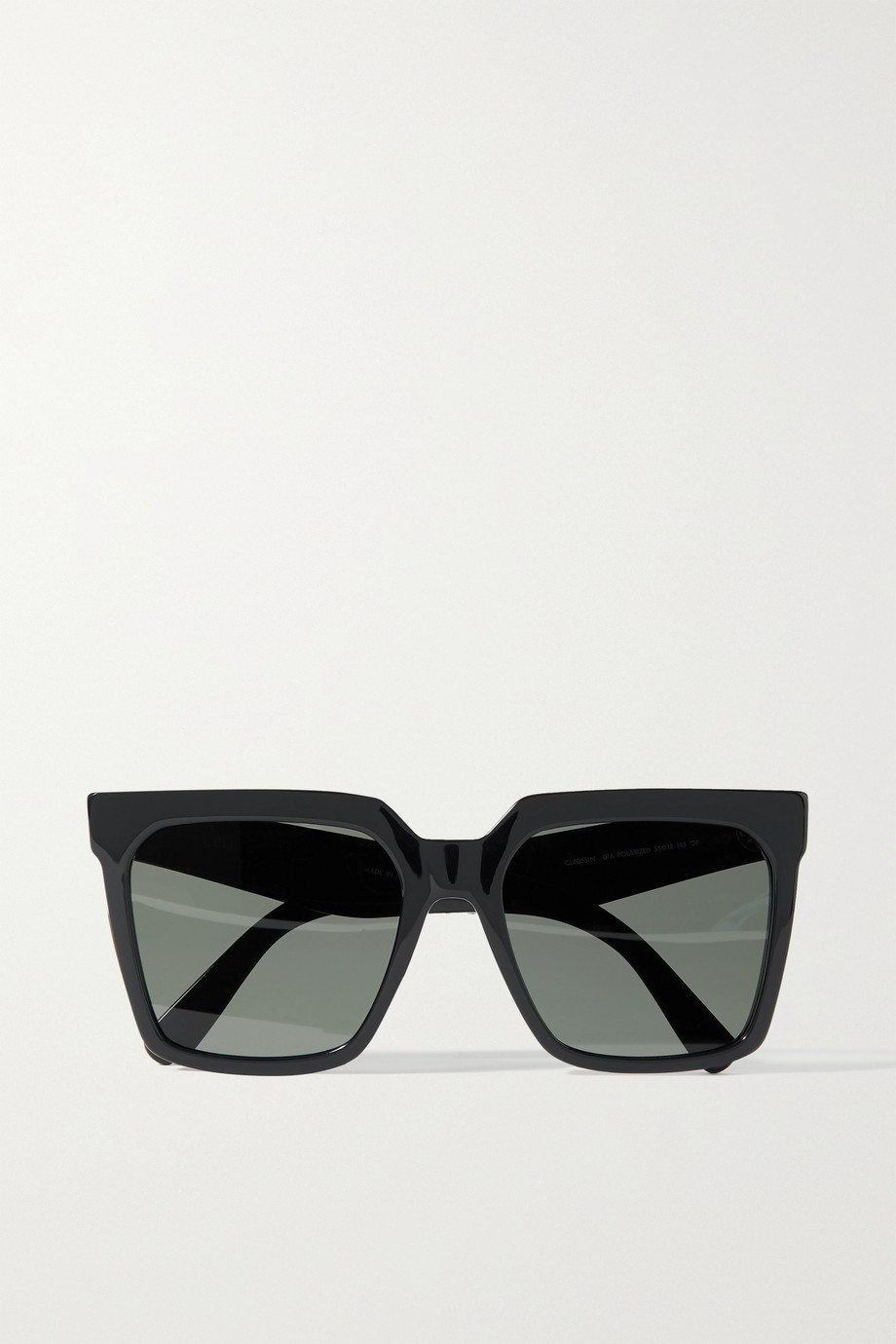 CELINE Oversized square-frame acetate sunglasses