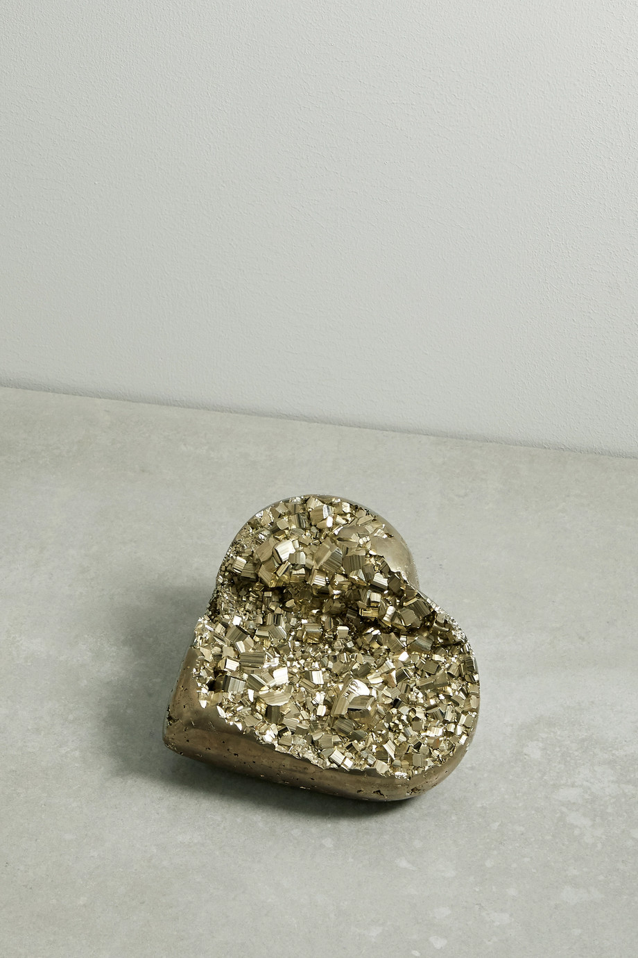 KIMBERLY MCDONALD Heart pyrite geode