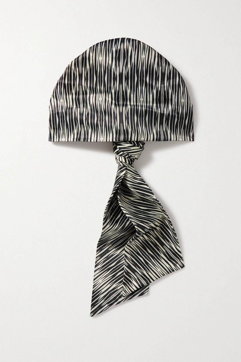 EUGENIA KIM Gigi printed satin hair scarf