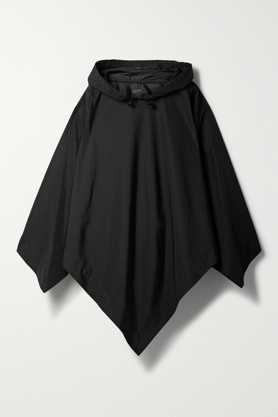 RAG & BONE Addison hooded recycled shell poncho