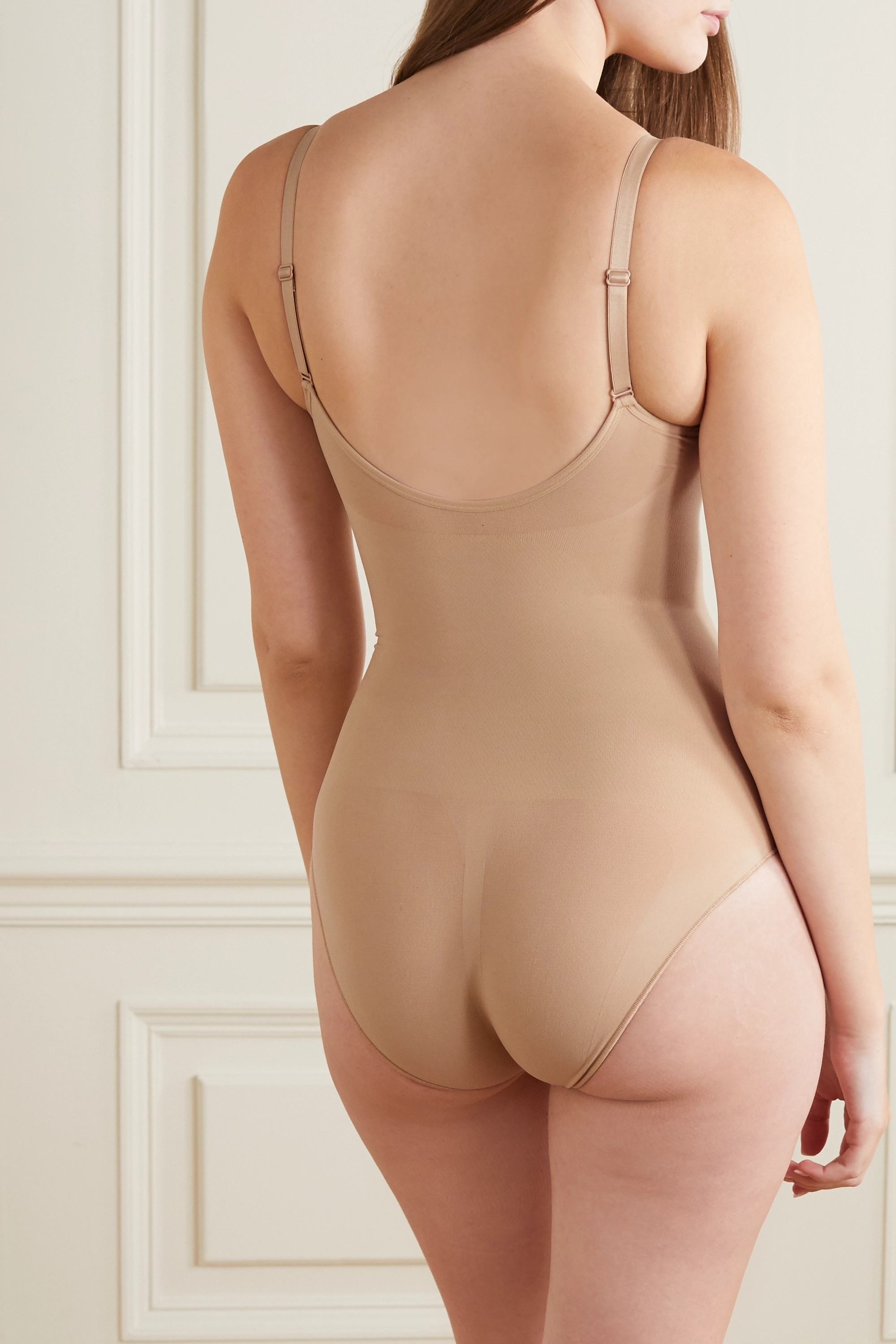 SKIMS Seamless Sculpt Sculpting bodysuit - Umber