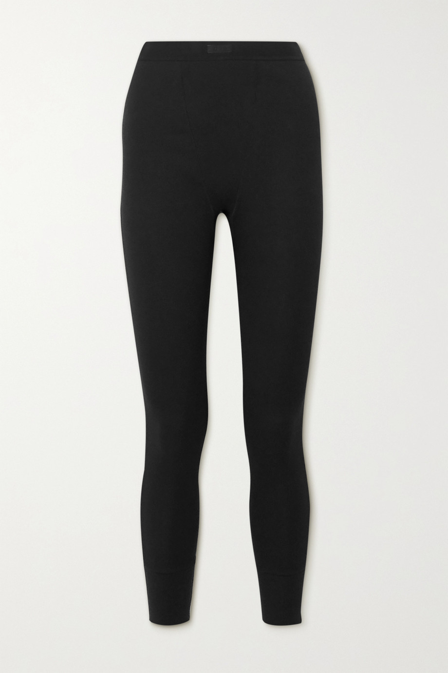 SKIMS Cotton Collection thermal ribbed stretch-cotton leggings
