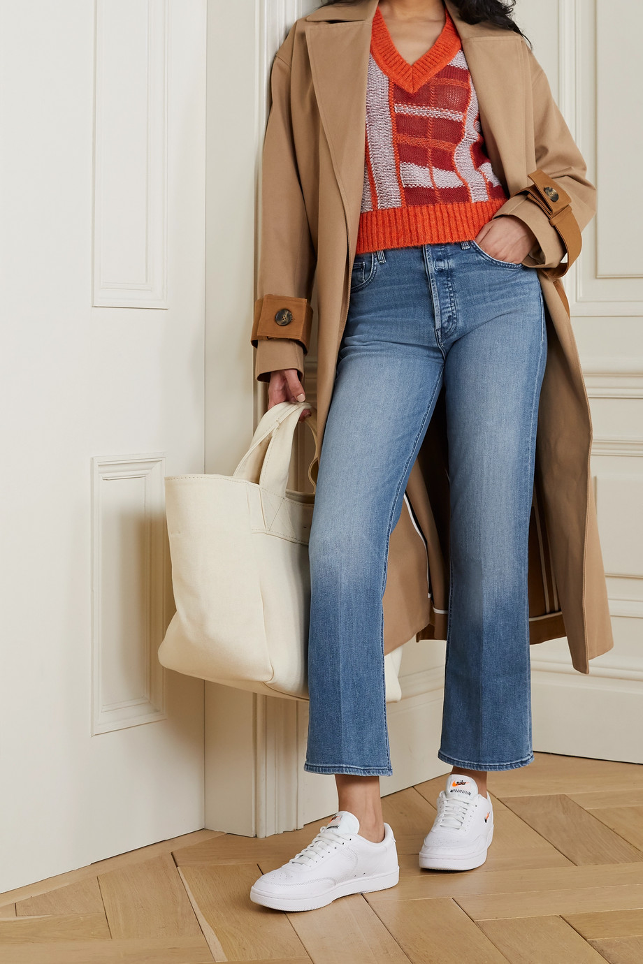 MOTHER The Tripper high-rise straight-leg jeans