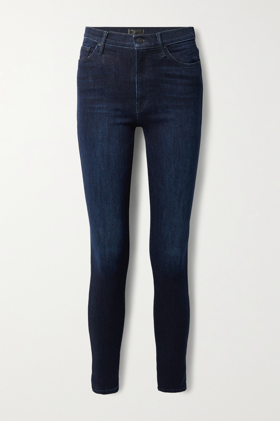 MOTHER The Super Swooner high-rise skinny jeans