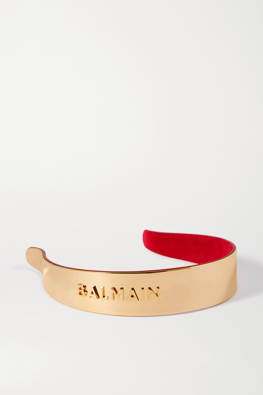 BALMAIN PARIS HAIR COUTURE Gold-plated headband