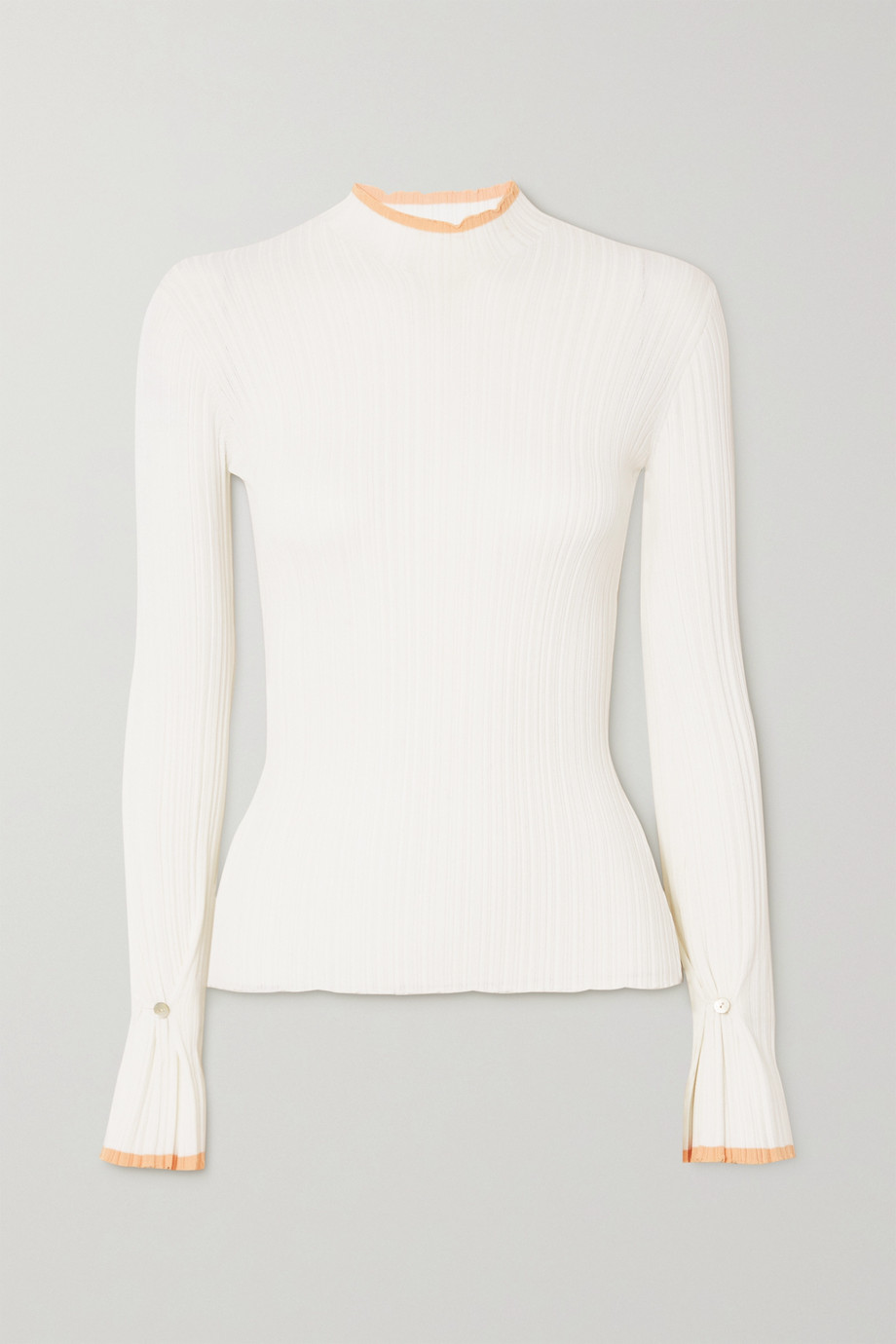 HOLZWEILER Heime ribbed-knit top