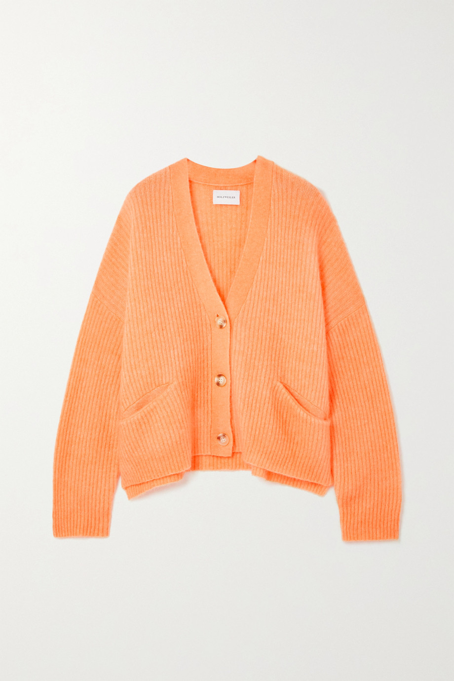 HOLZWEILER Driver oversized ribbed-knit cardigan