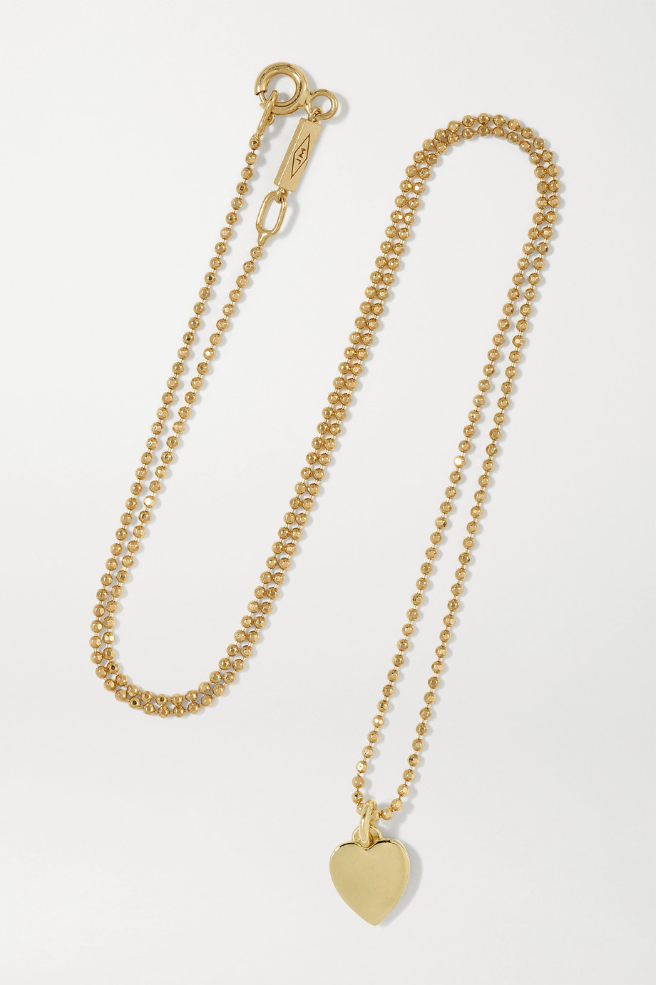 JENNIFER MEYER Heart 18-karat gold necklace