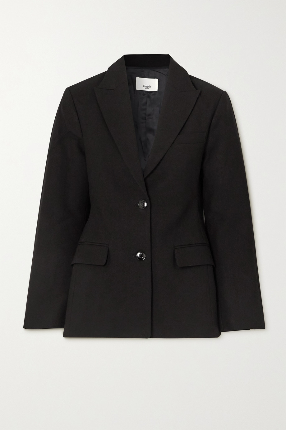 FRANKIE SHOP Cotton blazer