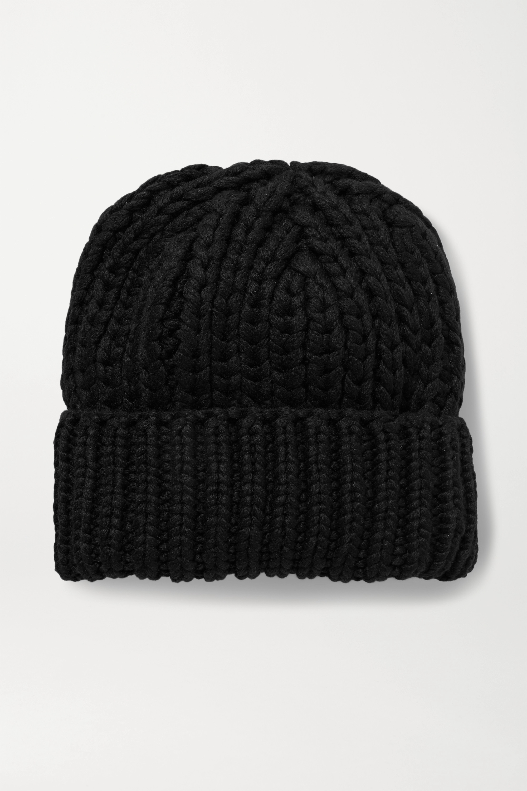 THE ROW Ayfer ribbed cashmere beanie