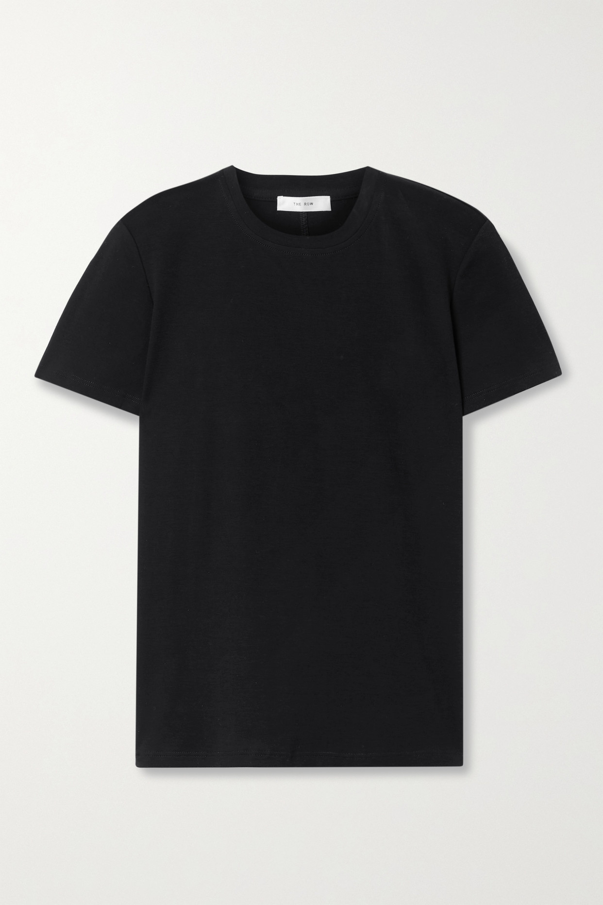 THE ROW - Wesler Cotton-jersey T-shirt - Black - small
