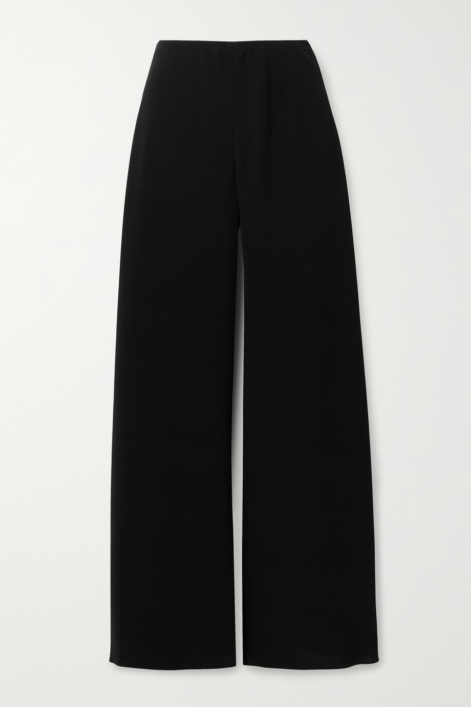 THE ROW Gala crepe wide-leg pants
