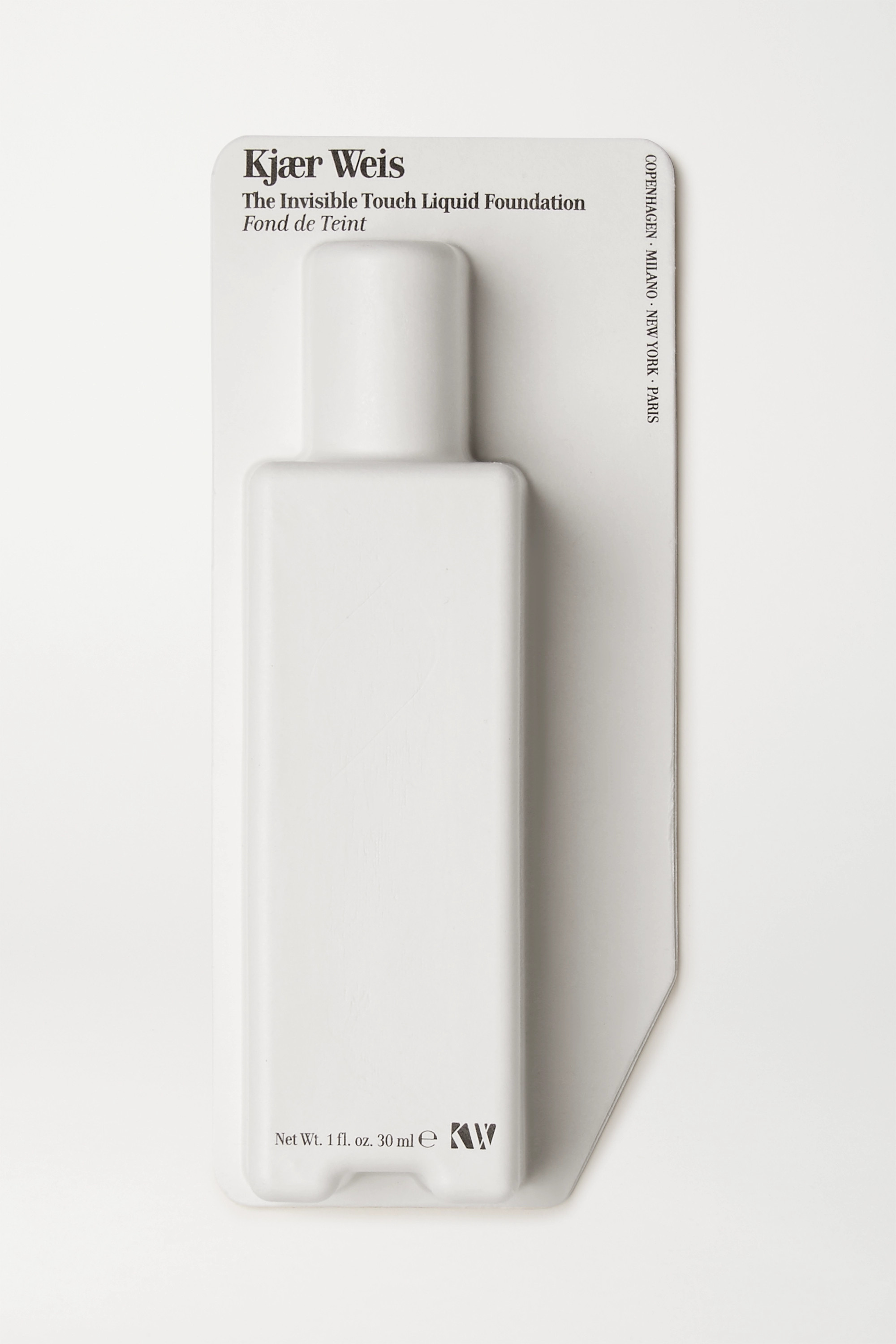KJAER WEIS Invisible Touch Liquid Foundation - Transparent D310, 30ml