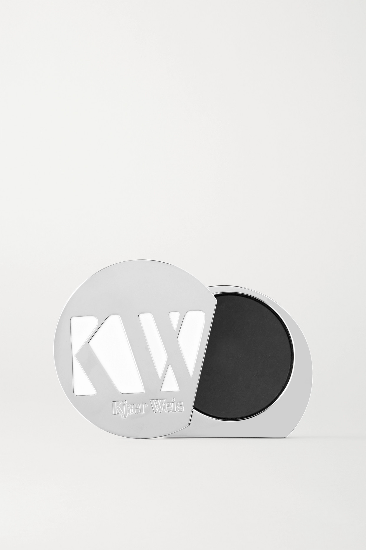 KJAER WEIS - Iconic Edition Refillable Case - Silver - one size