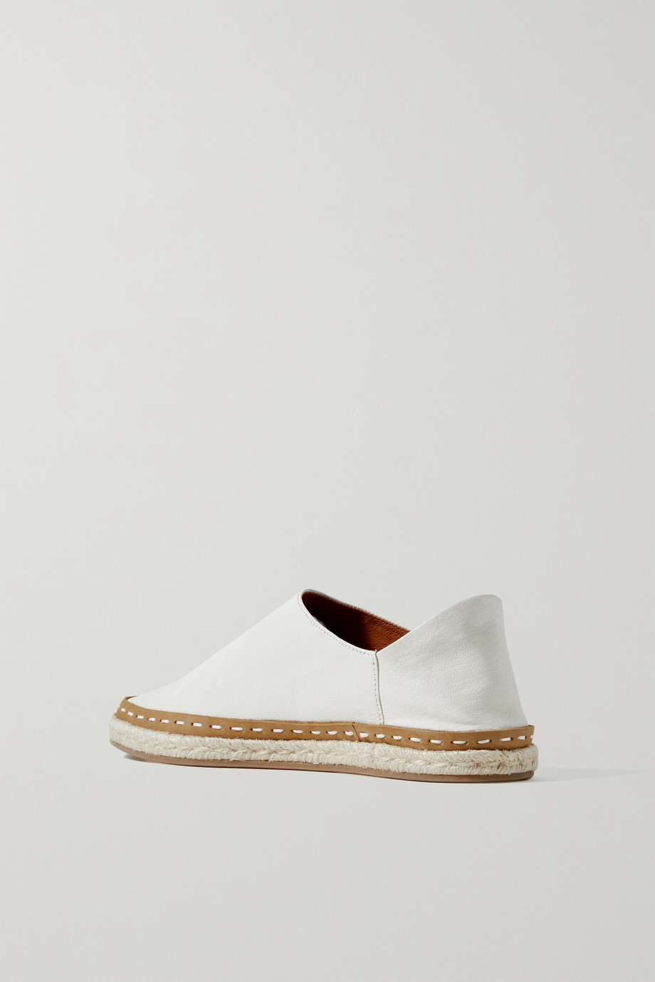 RAG & BONE Canyon leather collapsible-heel espadrilles
