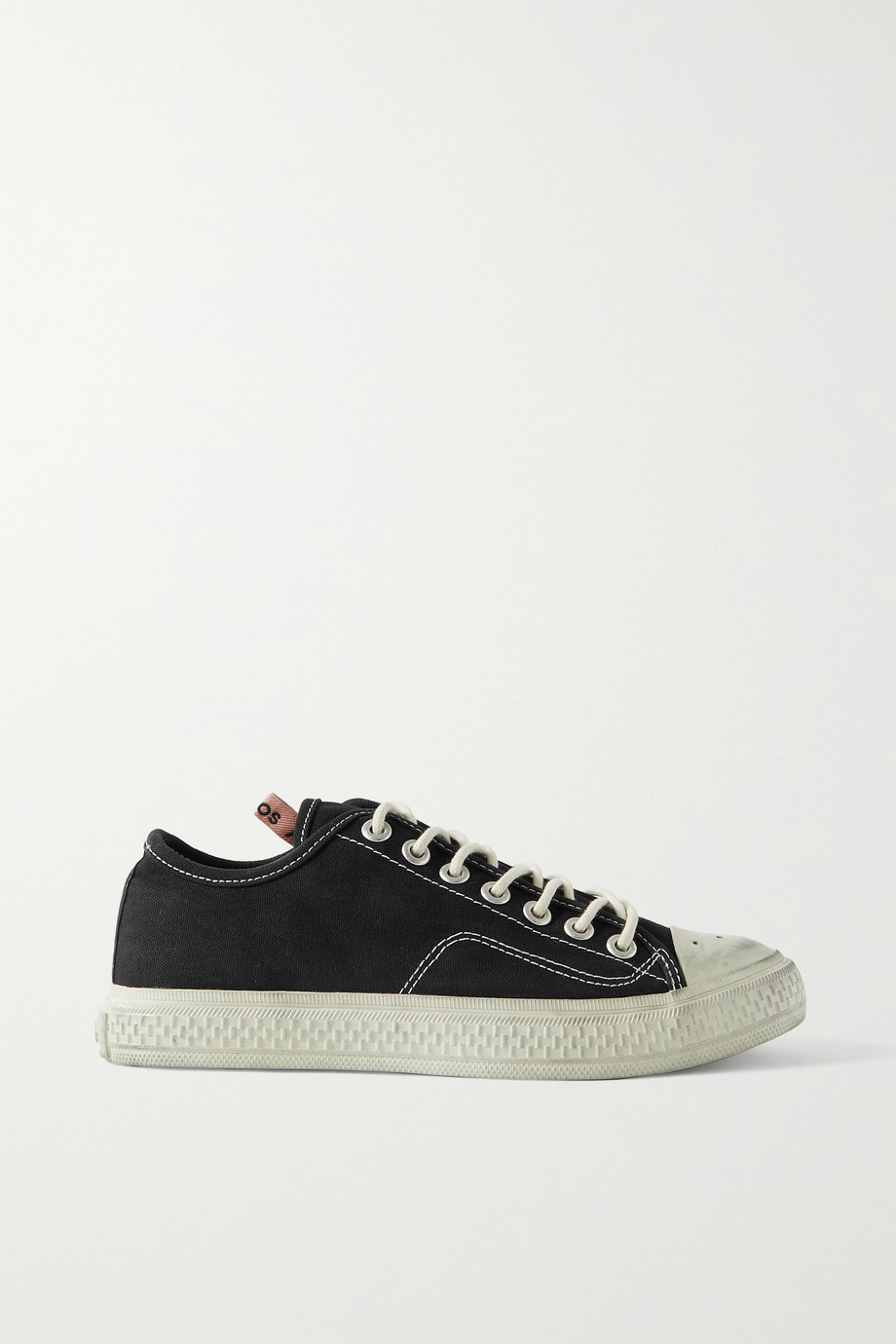 ACNE STUDIOS Distressed canvas sneakers