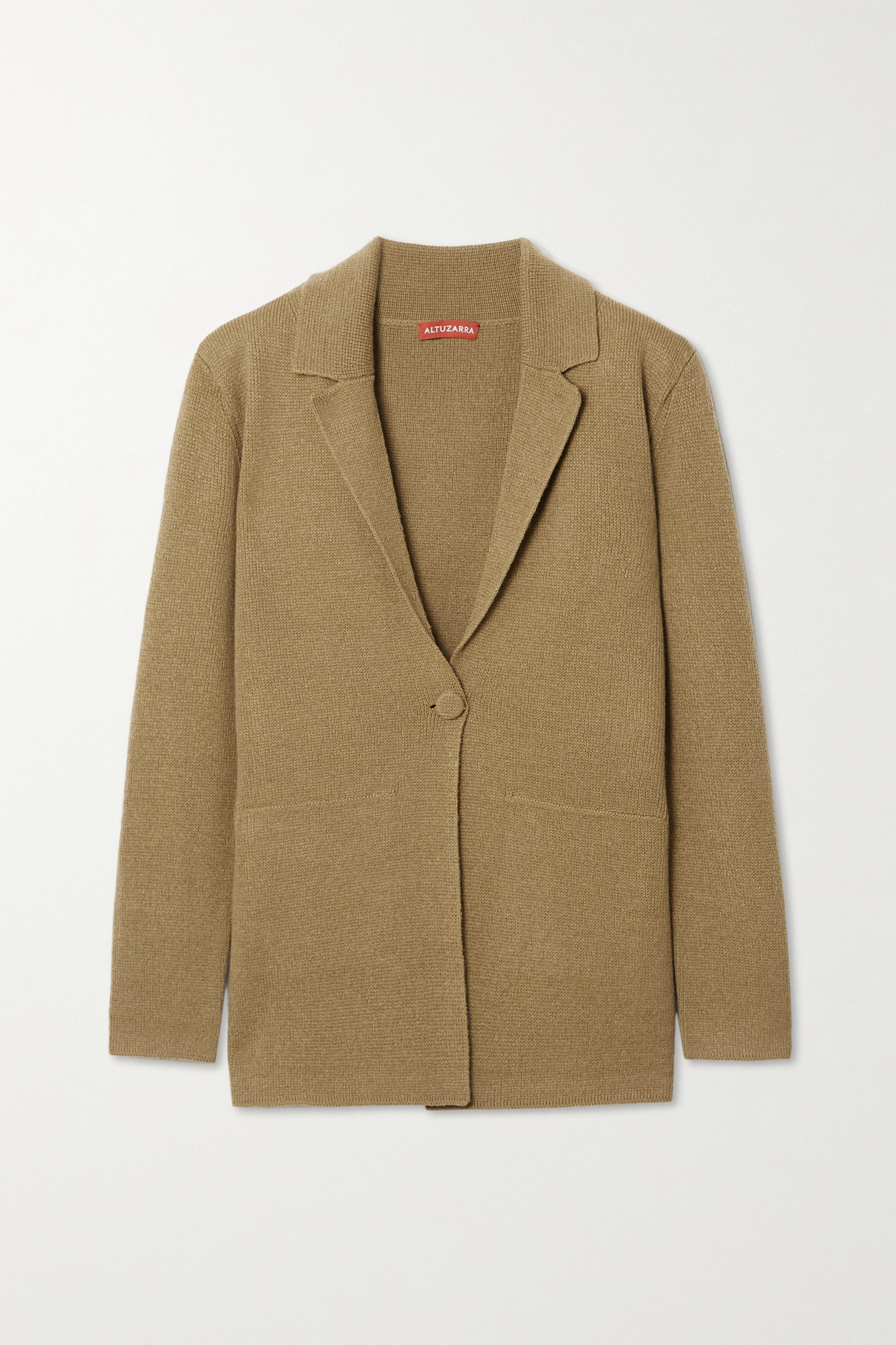 ALTUZARRA Heather cashmere and cotton-blend blazer