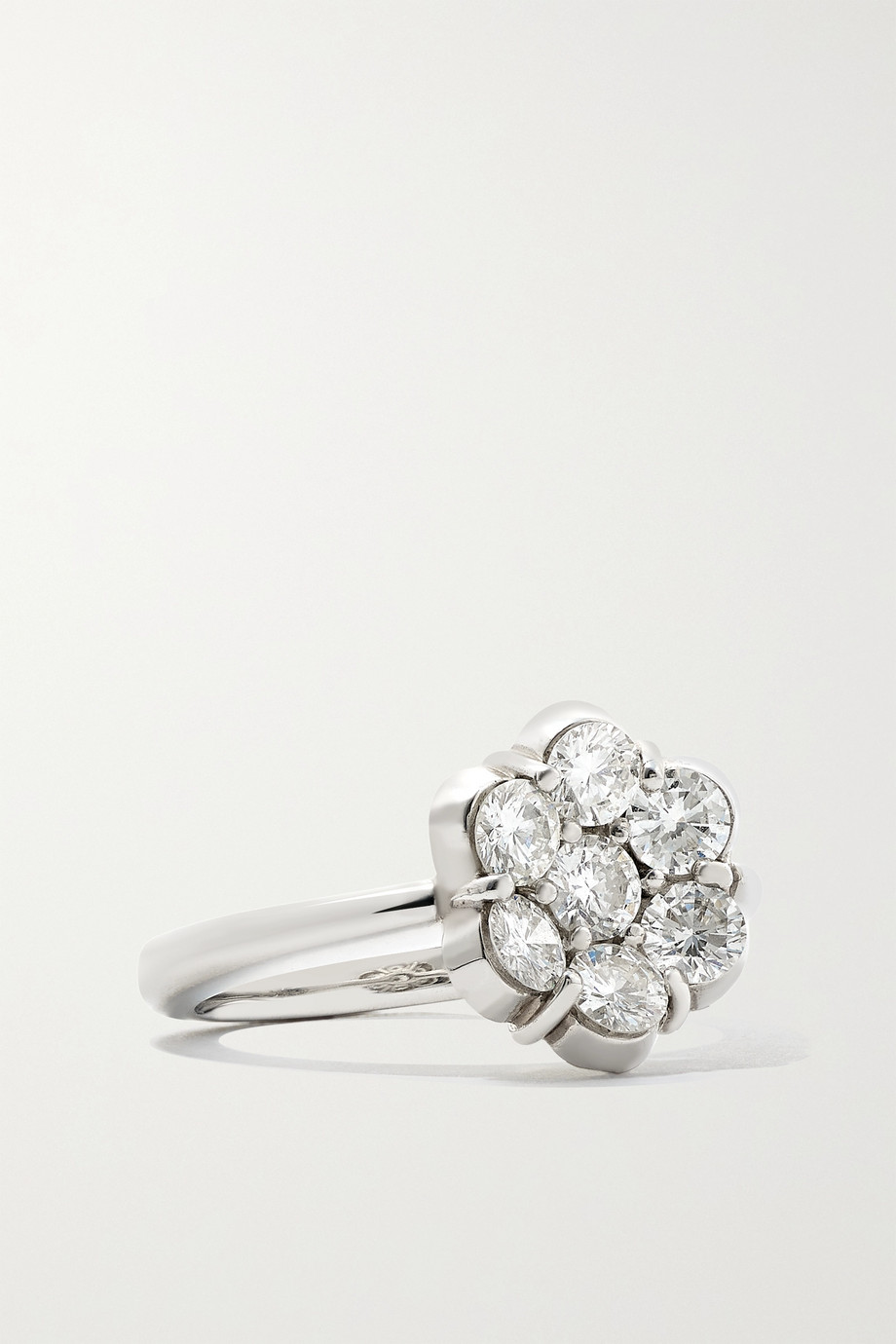 BAYCO Platinum diamond ring