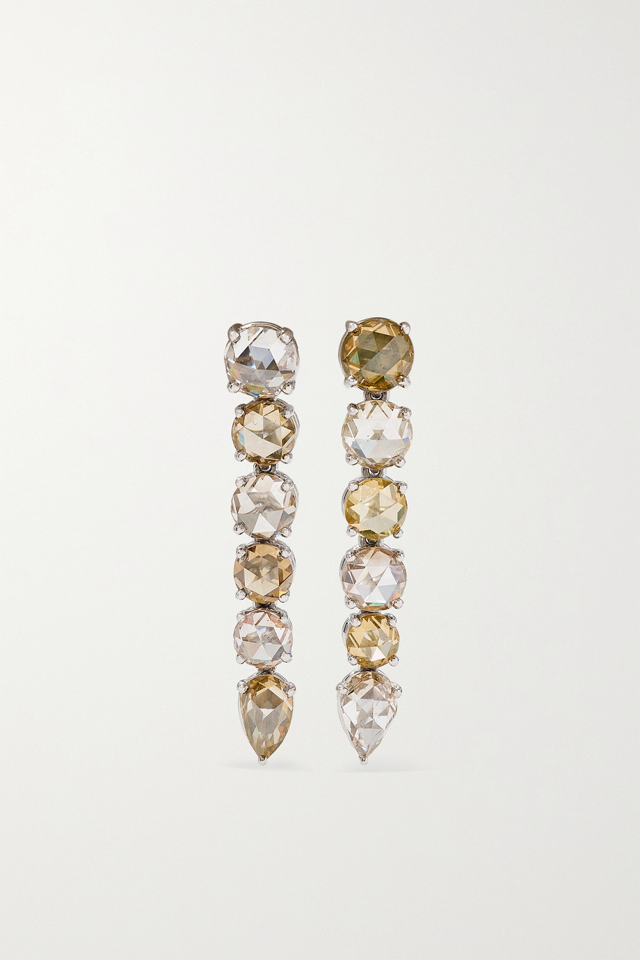 BAYCO Platinum diamond earrings