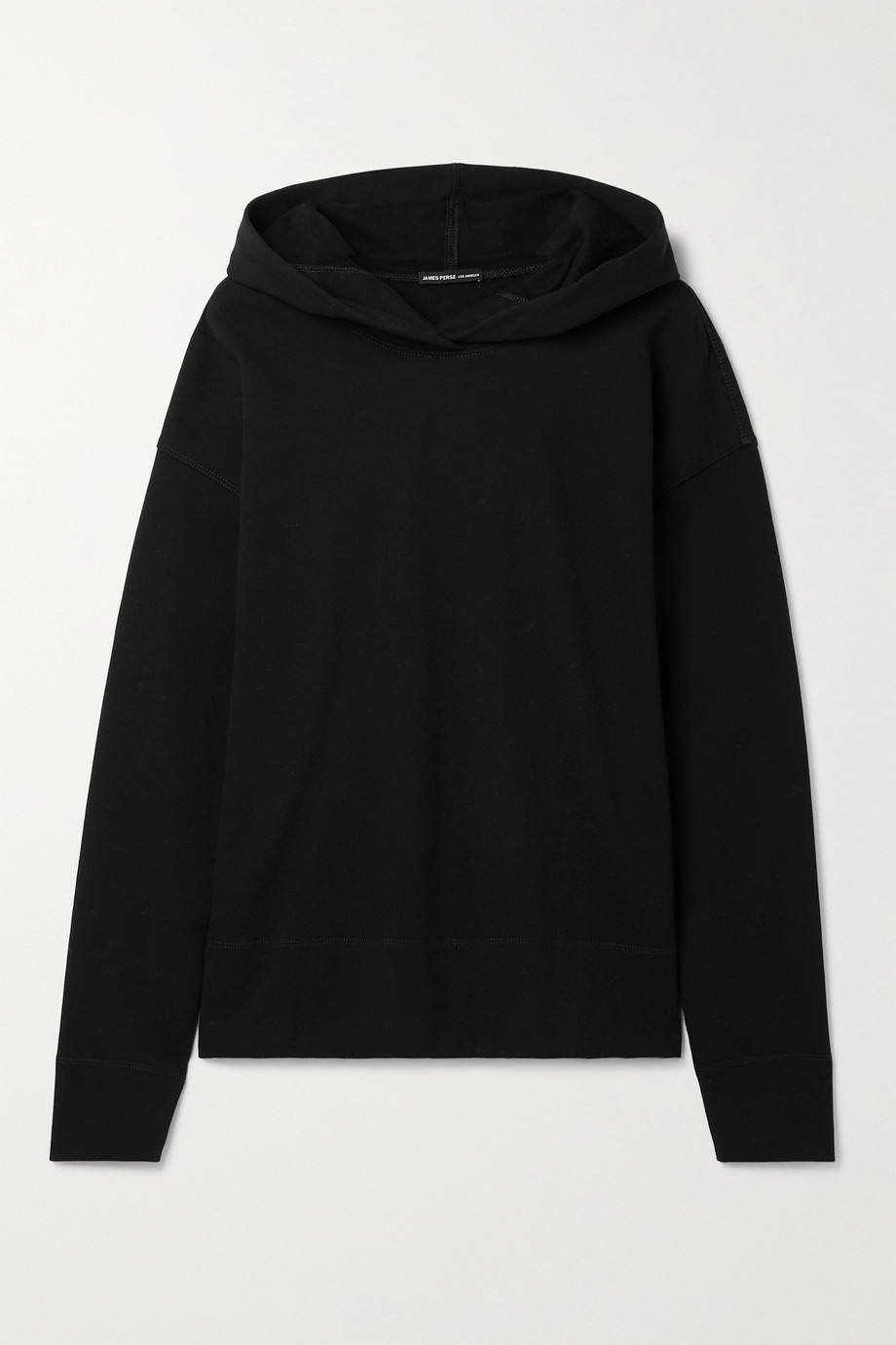 JAMES PERSE Cotton-blend jersey hoodie